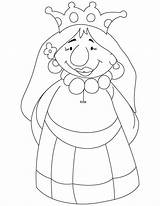 Queen Coloring Pages Cartoon Drawing Bee Getdrawings Mab Juliet Romeo sketch template