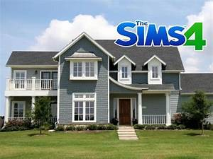 AMERICAN FAMILY HOUSE - Construction Sims 4 - YouTube