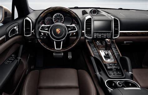 2017 Porsche Cayenne Interior by Porsche Imanuals