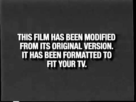 Do not report tips here. Black Format Screen (Early 2000's) (Disney-FOX Version ...