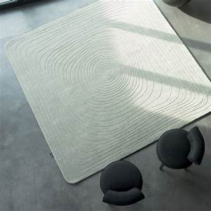 tapis design carre eden par angelo With tapis carré design