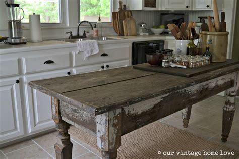 Vintage Home Love Farmhouse Table