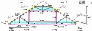 Room trusses images reverse search for 40 ft attic truss