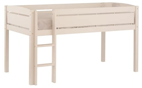 canwood whistler junior loft bed loft bed with slide sears