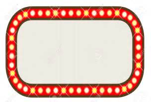 Vintage Marquee Lights by Hollywood Border Cliparts Free Download Clip Art Free