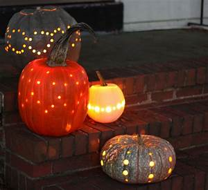 How, To, Carve, Pumpkins, With, Only, A, Drill