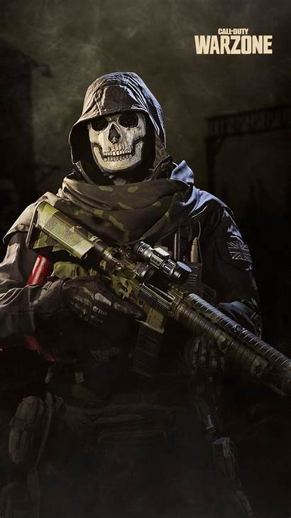 Duty Call Warzone Ghost Wallpapers Cod Mobile