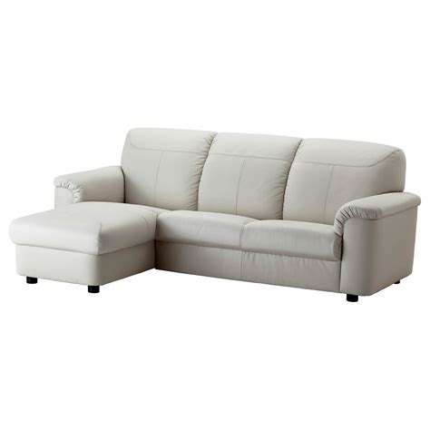 chaise ikéa timsfors two seat sofa with chaise longue mjuk kimstad
