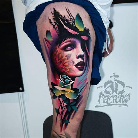 keren design tattoo realistic  tentang ide motif tato