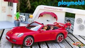 Voiture Playmobil Porsche : histoire de playmobil la famille thomas s 39 ach te une nouvelle voiture porsche 911 jouet enfants ~ Melissatoandfro.com Idées de Décoration