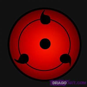 How to Draw Sharingan, Step by Step, Naruto Characters ...