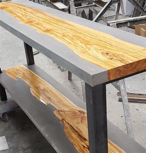 sidetable maken sidetable van hout en beton marcolina