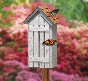 Butterfly House Pattern Plans - WoodWorking Projects & Plans