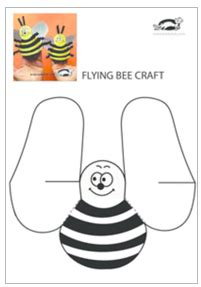 krokotak flying bee craft