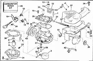Evinrude Carburetor Parts For 1992 9 9hp E10relena