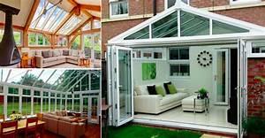 idee decoration interieure veranda ciabizcom With idee couleur mur salon 10 la veranda moderne 80 idees chic et tendance