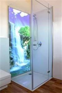 Duschwand Mit Motiv : duschwand beleuchtet kuzman glas ~ Sanjose-hotels-ca.com Haus und Dekorationen