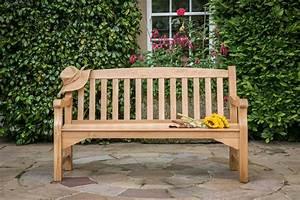 Heritage, Oak, 5ft, Garden, Bench, -, 3, Seater