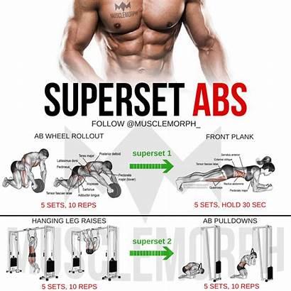 Abs Workout Musclemorph Superset Gym Super Workouts