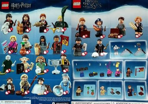 lego harry potter collectible minifigures series