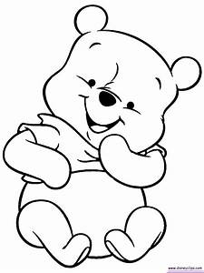 baby pooh bear coloring pages - Google Search | coloring ...