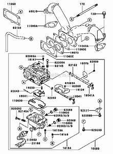 Kawasaki 4 Stroke Lawn Engine