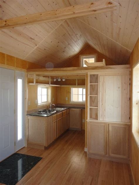 tiny home interior gorgeous 200sqft cabin built by