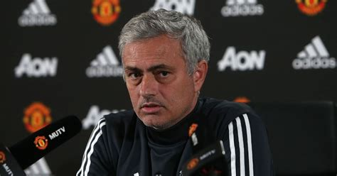 Manchester United Press Conference Live As Jose Mourinho