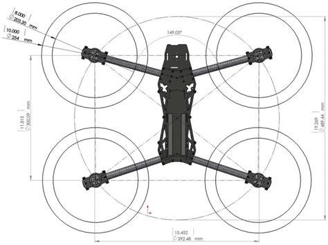 drone lynxmotion hquad kit de base controleur