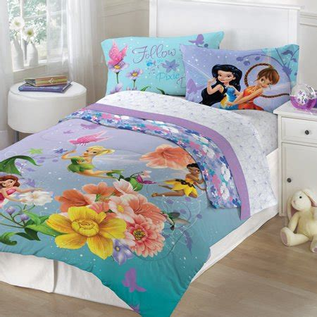 Tinkerbell Bedroom Set by Tinker Bell Bedding Tktb