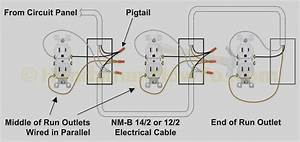 Wiring Diagram For House Outlets