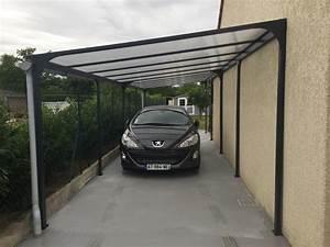 Car Port Alu : carport aluminium 1 voiture h 234 x l 300 x p 500 cm 15 ~ Melissatoandfro.com Idées de Décoration
