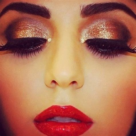 art holiday glam hair make up my passion pinterest