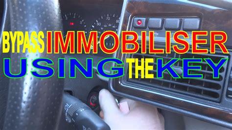 Immobiliser Not Working Car Won Start Key Fob Faulty