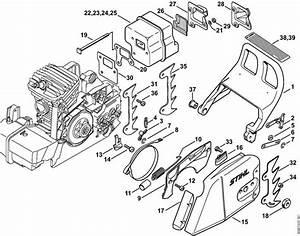 Stihl 021 Parts Diagram