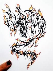 Phoenix Fire Tattoo