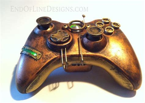 Three Awesome Xbox 360 Steampunk Controllers