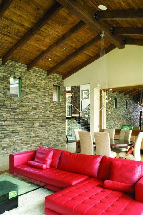 red living room interior design ideas