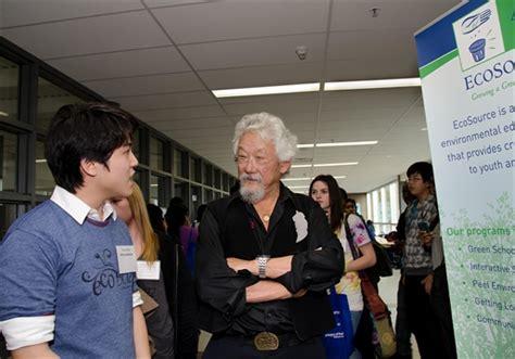 Suzuki School Of by David Suzuki Visits School Mississauga