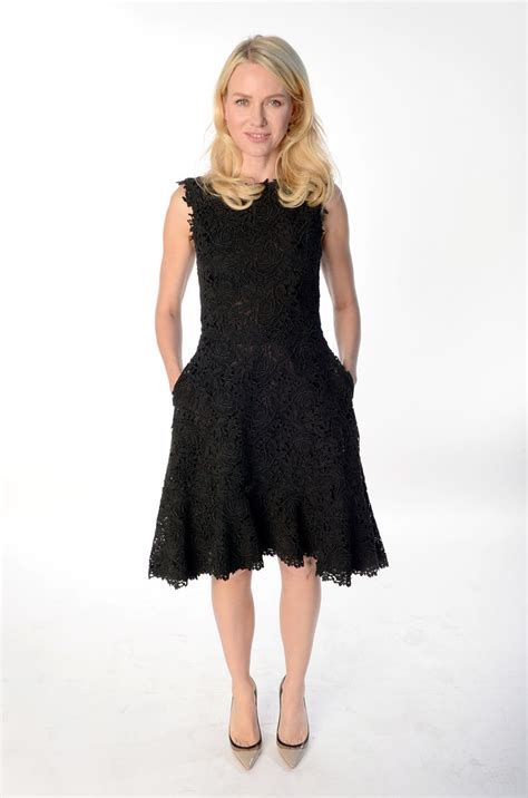 naomi watts  black dress naomi watts