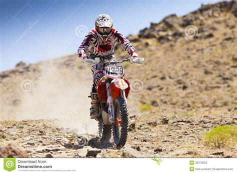 Off Road Dirt Bike Racer #n328 Editorial Stock Photo