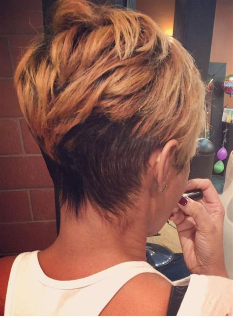 Back View Of Pixie Hairstyles by 60 Cool Back View Of Undercut Pixie Haircut Hairstyle