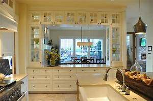 love this kind of a pass through from kitchen to dining With kitchen dining room pass through