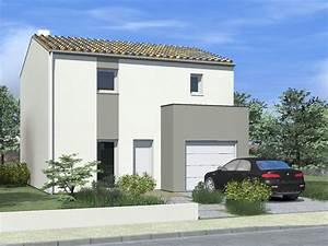 maison tendance avec son garage en avancee cubique sur la With couleur de la fa ade de maison moderne
