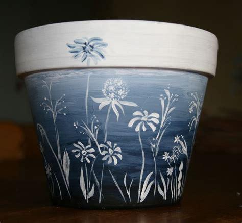 pot de fleurs des chs photo de c 244 t 233 peinture sapinlipopette