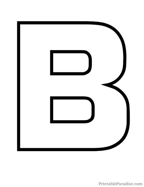 b in bubble letters printable letter b outline print letter b 20538   ea03906ee68e3eee64e0d13ac9452784