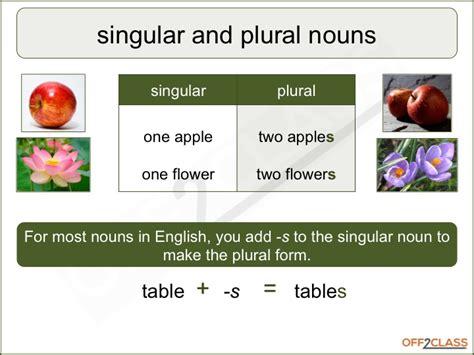 singular plural lesson plan how to teach off2class