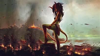 Demon Devil Succubus Wallpapers Female Demons Woman