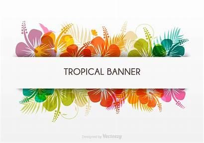 Tropical Banner Templates Flex Hawaii Template Gratis