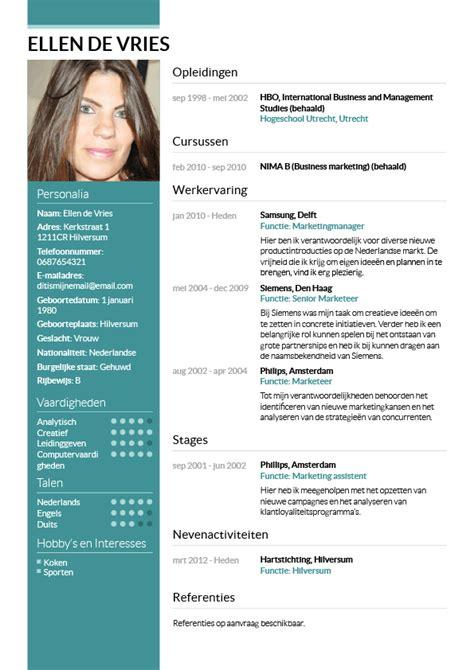 Cv Wizard by Nieuwe Cv Maken Hetmakershuis